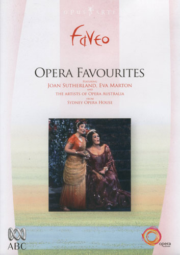 opera favourites dvd cover using Ernie Gerzabek contemporary painting