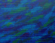 raining colours remembered acrylic abstract blue art painting