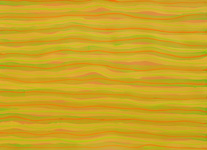 undulations acrylic yellow painting acrylic on paper